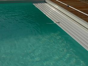 volet roulant immergé pour piscine