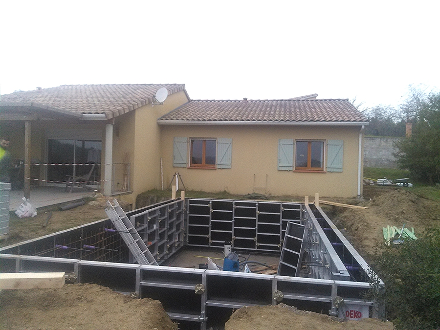 Piscines beton for Piscine beton banche